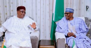Presidents Issoufou and Buhari