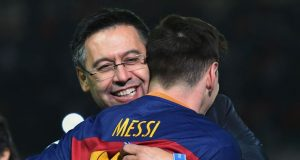 Josep Maria Bartomeu and Messi