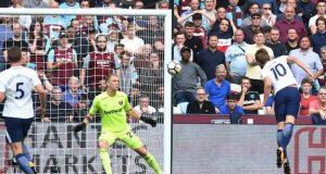 Kane's double settles Spurs, Hammer derby