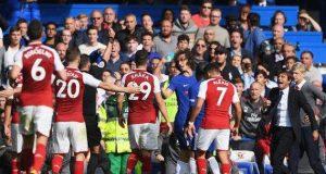 Luiz receives straight red