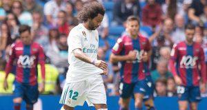 Marcelo sent off