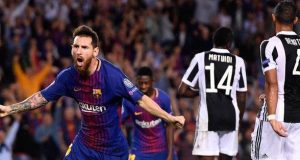 Messi pounds Juve