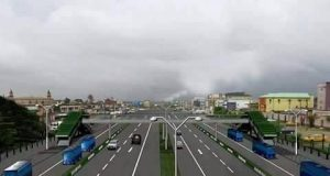 The proposed design of new Oshodi-Airport road