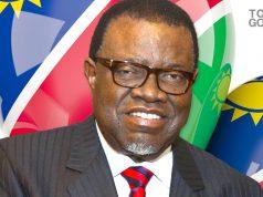 Zambian President Hage Geingob