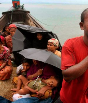 Muslims facing persecution in Rohingya