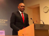 Tony Elumelu speaking at the Chatham House
