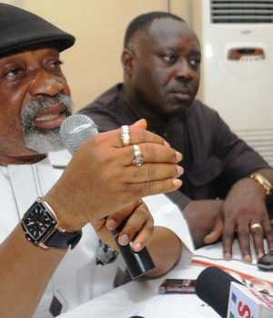 Minister of Labour and Employment, Chris Ngige