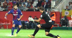 Suarez scores