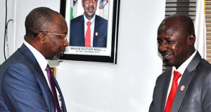 NAICOM boss, Mohammed Kari-and Ibrahim Magu of EFCC