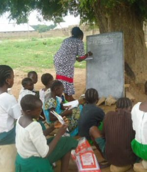 A typical Kaduna school