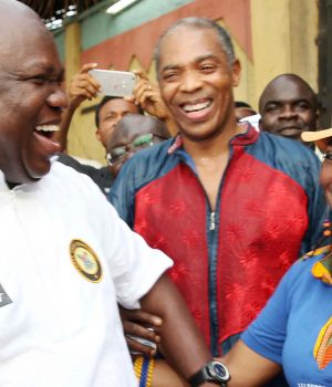 Ambode, Femi and Yeni Kuti