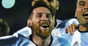 Messi's hat trick sends Argentina to Russia 2018