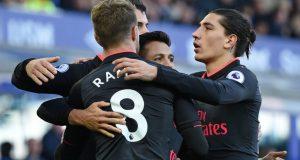 Massive jubilation as Arsenal trounce Everton at Goodison Park