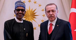 Presidents Buhari, Erdogan
