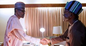 President Buhari and Gov Ortom