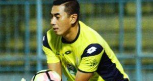 Goal keeper Choirul Huda