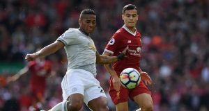 Man United hold Liverpool at Anfield