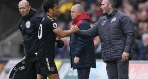 Michael Appleton's first match as caretaker coach