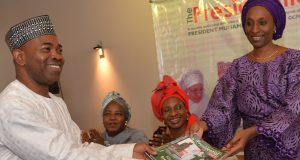 Dolapo Osinbajo at the launch of Presidential Diary magazine