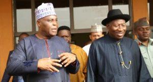 Dokpesi visits ex-President Goodluck Jonathan