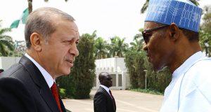 Presidents Erdogan and Buhari