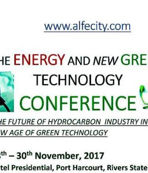 Energy and New Green Technology Conference
