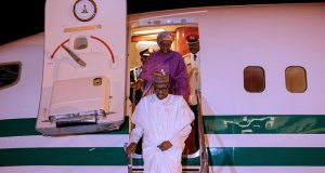 President Buhari returns to Abuja from Turkey
