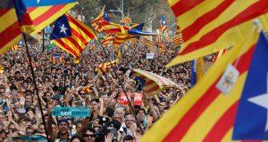 Jubilant Cataloians