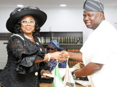 Justice Oke and Gov Ambode