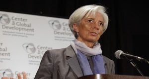IMF President, Lagarde