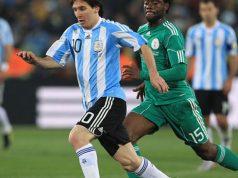 Lionel Messi in previous Argentina engagement against Nigeria's Super Eagles