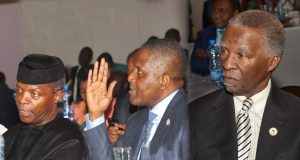 Osinbajo, Dangote and Mbeki