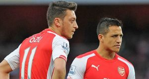 Mesuit Ozil and Alexiz Sanchez