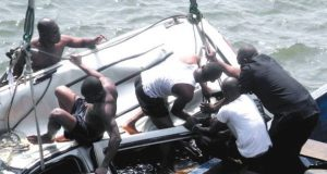 The SUV that plunged into the Lagoon