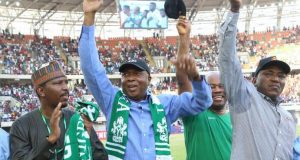 Saraki, Sports Minister and others