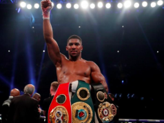 Victorious Anthony Joshua