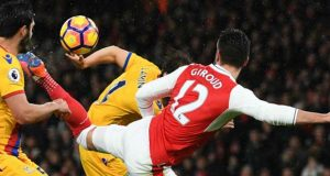 Olivier Giroud's Scorpion kick against Crystal Palace