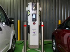 Shell service stations for electric cars