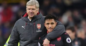 Arsene-Wenger and Alexis-Sanchez