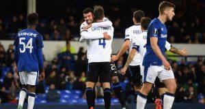 Atalanta wallop Everton 5-1 at Goodison Park