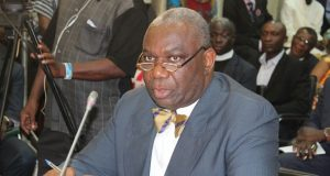 Ghana's Energy minister, Boakye Agyarko