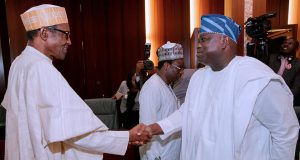 President Buhari and Gov. Ambode