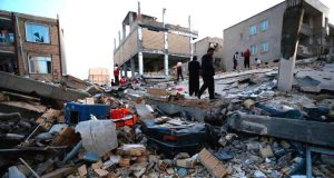Iran, Iraq earthquake