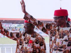 President Buhari and Gov. Umahi