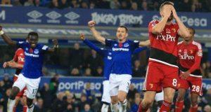 Everton's dramatic comeback