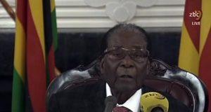 Mugabe addresses Zimbabweans