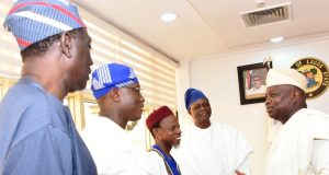 Gov. Ambode(r) with national leadership of NASFAT