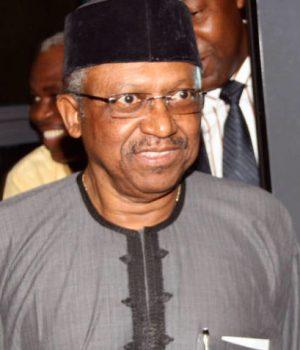 Minister of Health, Professor Osagie Ehanire,