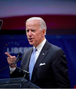 Former U.S Vice President, Joe Biden
