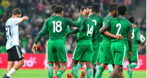 Super Eagles came from behind to beat Argentina in a 4-2 thriller